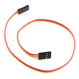 Kaabel 3p 2.54mm konnektoritega, eme/ema, 30cm