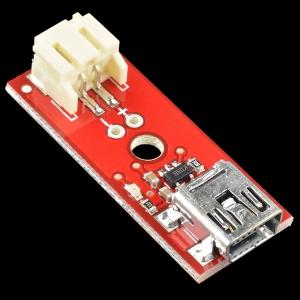 SparkFun LiPo laadija, Mini-USB
