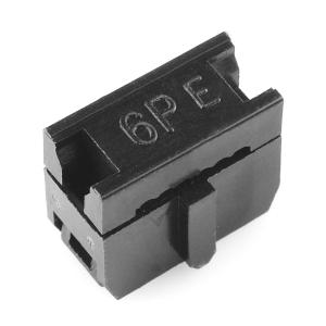 Lintkaabli konnektor, 2x3-Pin, ema
