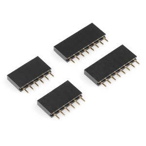Arduino kontaktiribade komplekt, 2 x 6p ja 2 x 8p, kõrge