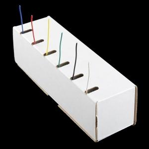 Montaazjuhtmete komplekt, ühekiuline, AWG22, 7.5m, 6 värvi