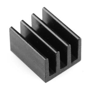 Radiaator 7.6 x 6.3 x 4.8mm, alumiinium