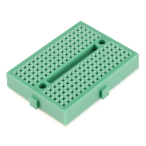 Mini makettplaat, 17 rida, roheline