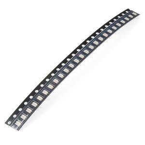 LED 1206 SMD, punane, 25 tk lindis