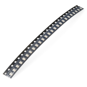 LED 1206 SMD, roheline, 25 tk lindis