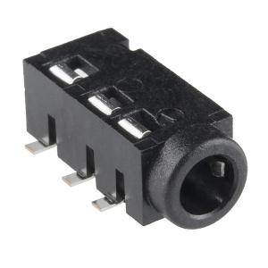 TRRS 3.5mm 4-kontaktiga pesa, SMD