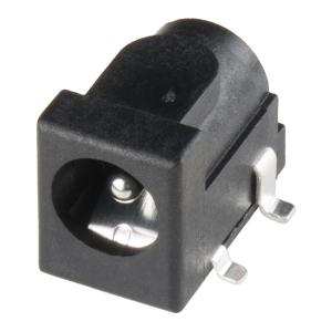 DC toitepesa 5.5/2.1mm, SMD