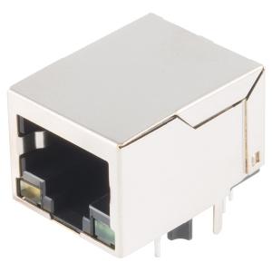 RJ45 Ethernet PoE MagJack konnektor trükkplaadile