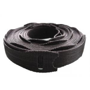 Takjapael Rip-Tie Lite PLUS 13mm x 203mm, Must/Hall (25.tk+25.tk)