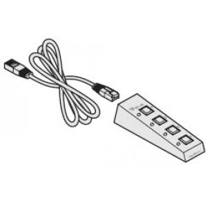 Nelja nupuga pult AV4PRO ning CCS4-USB jaoks