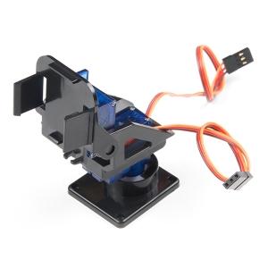 Mini pöörd/kallutus mehhanism servodega, plastik