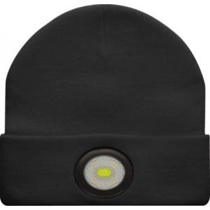 Müts USB laetava otsmikulambiga 150 lm, 300 mAh aku, IPX4, must
