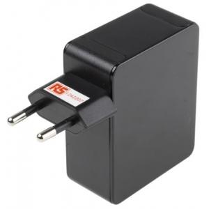 USB toiteplokk / laadija 4 x USB A, 5V dc, 0 → 5A, 25 W