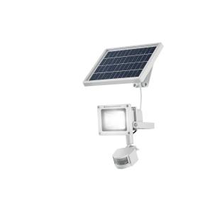 LED valgusti päikesepaneeli ja liikumisanduriga 1000 lm, IP44, 7,4 V 1800 mAh Li-ion aku