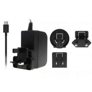 USB-C toiteplokk Raspberry Pi 4 -le 15,3 W, 5,1 V, 3 A, juhe 1,5 m