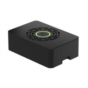 Karp Raspberry Pi 4´le, toitelülitiga, must