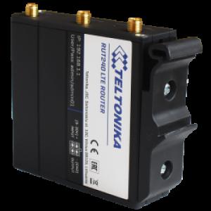 Tööstuslik LTE Wifi Ruuter: 2.4GHz, 2xLAN, 802.11b/g/n, -40°C-75°C, IP30