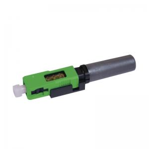 FO pistik singlemode SC/APC 3mm tööriistavaba