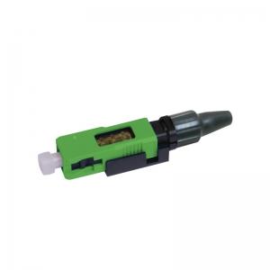 FO pistik singlemode SC/APC 900um tööriistavaba