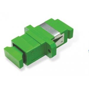 FO adapter singlemode SC/APC simplex roheline