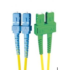 FO jätkukaabel singlemode SC-SC/APC duplex 1.0m