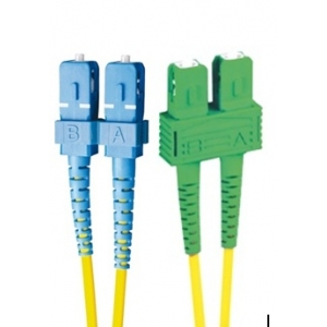 FO jätkukaabel singlemode SC-SC/APC duplex 2.0m