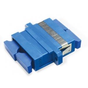 FO adapter singlemode SC duplex sinine