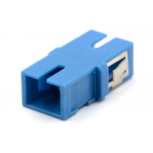 FO adapter kõrvadeta singlemode SC simplex sinine