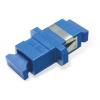 FO adapter singlemode SC simplex sinine