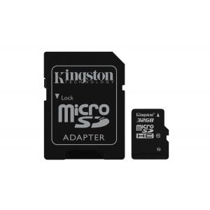 KINGSTON 32GB microSDHC Card Class 10