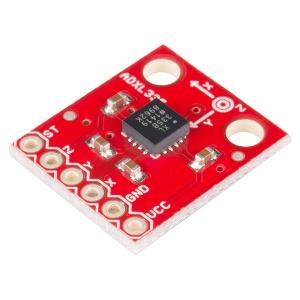 ADXL335 - 3 teljeline kiirendusandur +-3g, analoog väljundiga, 1.8-3.6V