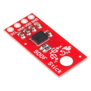 9-DOF Stick - güroskoop/kompass/kiirendusandur, 3.3V