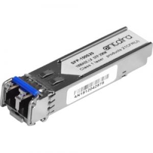 SFP moodul: 1 x 155Mpbs LC SM 1310nm kuni 20km, 0° kuni 70°C
