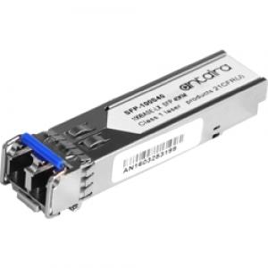 SFP moodul: 1 x 155Mpbs LC SM 1310nm kuni 40km, 0° kuni 70°C