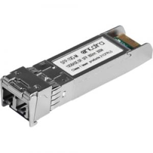 SFP moodul: 1 x 10G LC MM 85nm kuni 300m, SFP+, 0° kuni 70°C