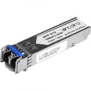 SFP moodul: 1 x 1.25Gbps LC SM 1310nm kuni 10km, 0° kuni 70°C