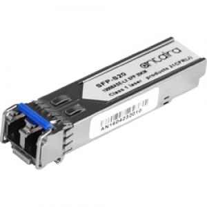 SFP moodul: 1 x 1.25Gbps LC SM 1310nm kuni 20km, -40° kuni 85°C
