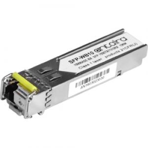 SFP moodul: 1 x 1.25Gbps LC SM WDM B kuni 10km, -40° kuni 85°C