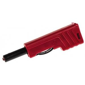 HIRSCHMANN 932153101 Banaanpistik, 4mm, 60V DC, 30A, punane