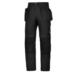 Tööpüksid AllroundWork ripptaskutega W36/L35, mustad