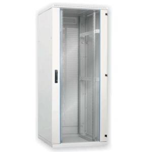 Seadmekapp 24U 1195x600x600 k,l,s, klaasuks, kandevõime kuni 600kg, hall, SRS