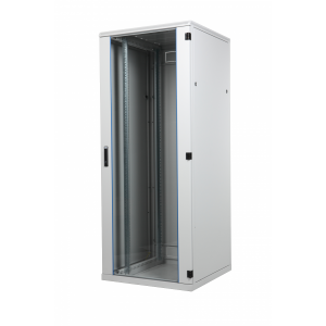 Seadmekapp 32U 1535x600x800 k,l,s, klaasuks, kandevõime kuni 600kg, hall, SRS