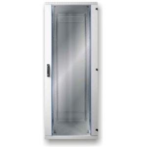 Seadmekapp 45U 2120x800x800 k,l,s, klaasuks, kandevõime kuni 600kg, hall, SRS