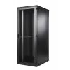 Seadmekapp 24U 1195x600x1000 k,l,s, perforeeritud uksed, kandevõime kuni 600kg, must, TOP III
