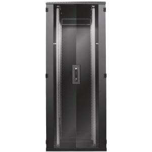 Seadmekapp 42U 1980x800x1000 k,l,s, klaasuks, kandevõime kuni 1000kg, must, BOX