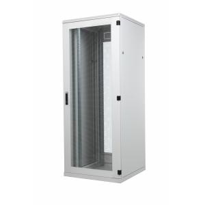 Seadmekapp 47U 2186x800x1000 k,l,s, perforeeritud uksed, kandevõime kuni 1000kg, hall, STANDARD II