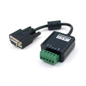 Tööstuslik Konverter RS-232 > RS-422/485, ülepingekaitse, 0 kuni 57°C, toiteplokk