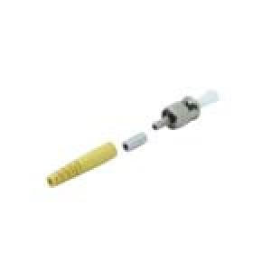 FO pistik singlemode ST simplex 2mm kollane