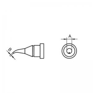 Kolviots LT-1X ümar 0,4mm 30° WP80, WSP80, FE75 (10tk)
