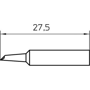 XNT GW2 SOLDERING TIP SHORT (10 pcs.)